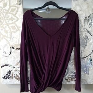 Express One Eleven REVERSIBLE Open Back Top